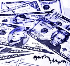 Free US Currency Royalty Free Stock Photos - 951778