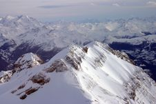 Free A Peak In The Alps Royalty Free Stock Photo - 952025