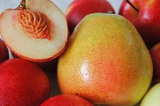 Free Pear And Nectarines Stock Image - 952281