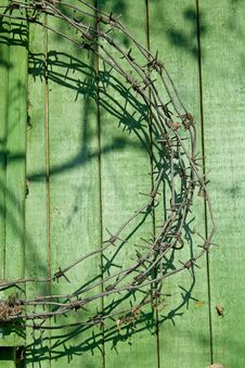 Free Hank Of Barbed Wire Stock Photography - 952522