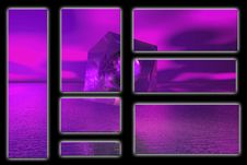 Free Purple Sky And Anomaly Royalty Free Stock Photography - 952677