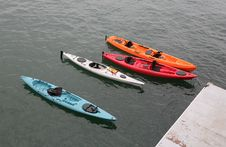 Free Kayaks Royalty Free Stock Photography - 952827