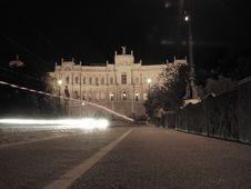 Free Maximilianeum At Night (sepia) Stock Photography - 952842
