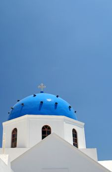 Free Blue Church Stock Image - 952851