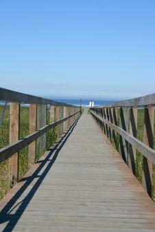 Free Pier To Beach Stock Image - 953161