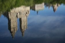 Free Reflected Buildings Overlooking Central Park Stock Image - 953461