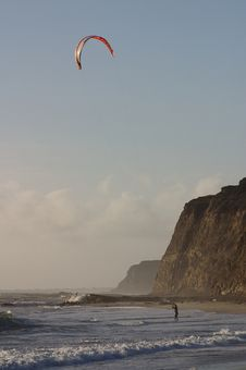 Free Kite Surfer Stock Images - 953514