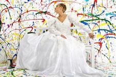 Free Beautiful Bride Royalty Free Stock Photography - 954127