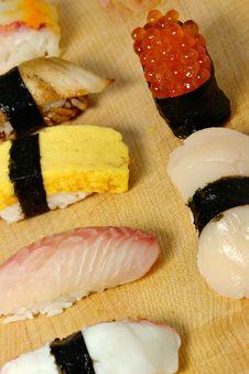 Nigiri Sushi Royalty Free Stock Photography