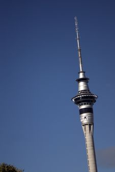 Free Auckland Sky Tower Stock Image - 954531