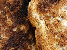 Free Burnt Toast Royalty Free Stock Image - 955066