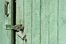 Free Closed Door Background Royalty Free Stock Image - 956226