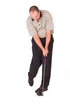 Free Golfer 8 Stock Images - 956344