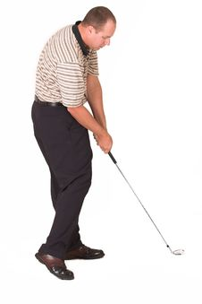 Free Golfer Iron 4 Stock Photography - 956352