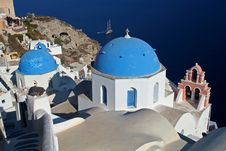 Free Santorini Royalty Free Stock Images - 956759
