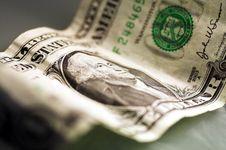 Free One Dollar Bill Stock Image - 956781
