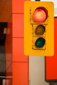 Free Traffic Lights Royalty Free Stock Photography - 956897