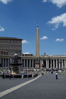 St. Peter S Square, Rome Stock Image