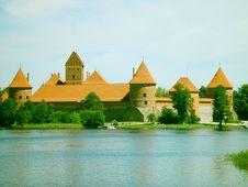 Free Trakai Castle Royalty Free Stock Image - 959246