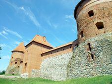 Free Trakai Castle Royalty Free Stock Photography - 959247