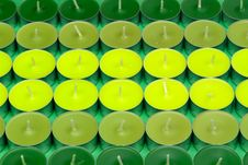 Free Green Candles Stock Images - 959724