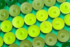 Free Green Candles Royalty Free Stock Photos - 959838