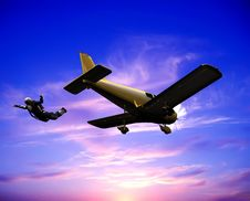Free The Jet Plane Royalty Free Stock Photo - 9500185