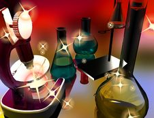 Free Chemical Devices Stock Photos - 9500283