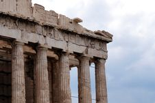 Free Athens Acropolis Royalty Free Stock Photo - 9500315