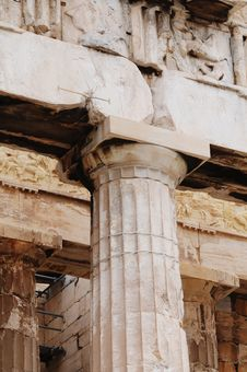 Free Athens Acropolis Royalty Free Stock Photo - 9500365