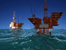 Free Production Of Petroleum Stock Photo - 9500380