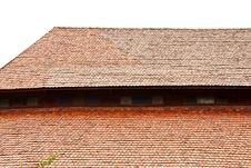 Free Roof Of Biggest Catholic Wood Church Of Thailand Stock Image - 9500811