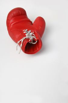 Free Red Boxing Glove Stock Photo - 9501340