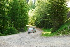 Free Car Drive In The Mountains Royalty Free Stock Image - 9502146