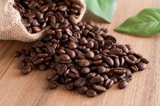 Free Coffee Beans Stock Images - 9502614
