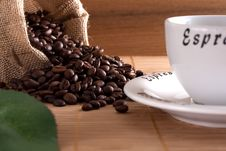 Free Coffee Beans Stock Images - 9502684