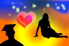 Free Valentine Card Royalty Free Stock Image - 9503116