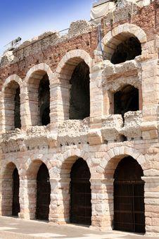 Free Amphitheatre Arena In Verona, Italy Stock Images - 9503644