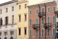 Free Facade In Verona, Italy Royalty Free Stock Images - 9503729