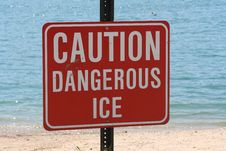 Free Caution Sign Royalty Free Stock Image - 9504016