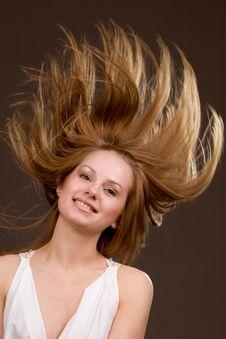 Free Flying Hair Stock Photos - 9505203