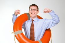 Free Life Buoy Stock Photo - 9505280