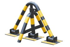 Free Parking Barrier Royalty Free Stock Image - 9506106