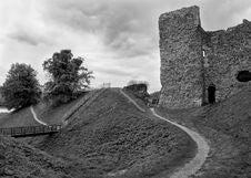 Old Framlingham Castle Royalty Free Stock Images