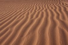 Free Lines On The Sand Royalty Free Stock Photography - 9506877