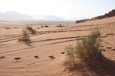 Wadi Rum Stock Photography