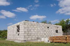 Free House Under Construction Stock Photo - 9508060