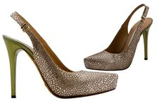 Free Womanish Shoes Stock Images - 9508104