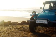 Free Beach Buggie On Beach Stock Photos - 9508703