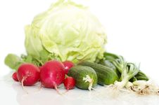 Free Vegetables Royalty Free Stock Photography - 9508887